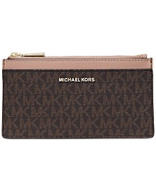 MICHAEL Michael Kors Boxed Signature Slim Card Case