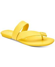 Calvin Klein Women's Saurin Flat Sandals