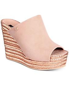 DKNY Eari Wedge Sandals, Created for Macy's