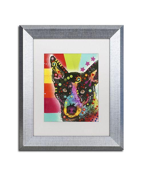 "Trademark Global Dean Russo 'Now?' Matted Framed Art - 14"" x 11"" x 0.5"""