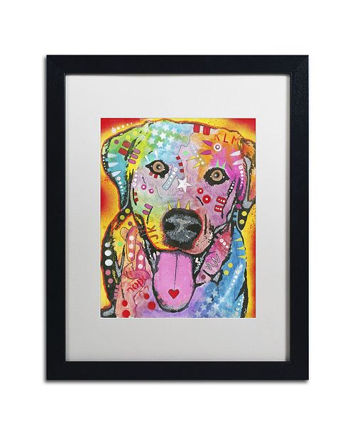 "Trademark Global Dean Russo 'Loving Joy' Matted Framed Art - 16"" x 20"" x 0.5"""