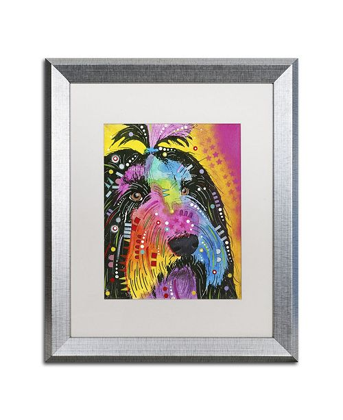 "Trademark Global Dean Russo 'Prissy' Matted Framed Art - 20"" x 16"" x 0.5"""
