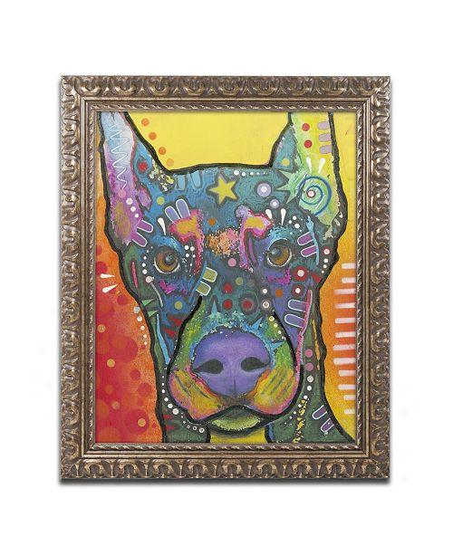 "Trademark Global Dean Russo '17' Ornate Framed Art - 20"" x 16"" x 0.5"""