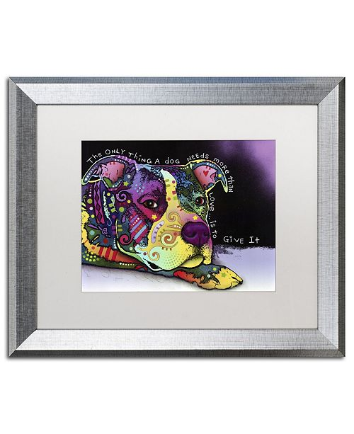 "Trademark Global Dean Russo 'Affection' Matted Framed Art - 20"" x 16"" x 0.5"""