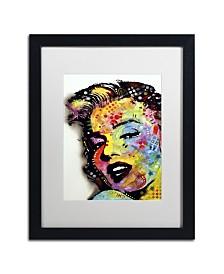 """Dean Russo 'Marilyn Monroe II' Matted Framed Art - 16"""" x 20"""" x 0.5"""""""