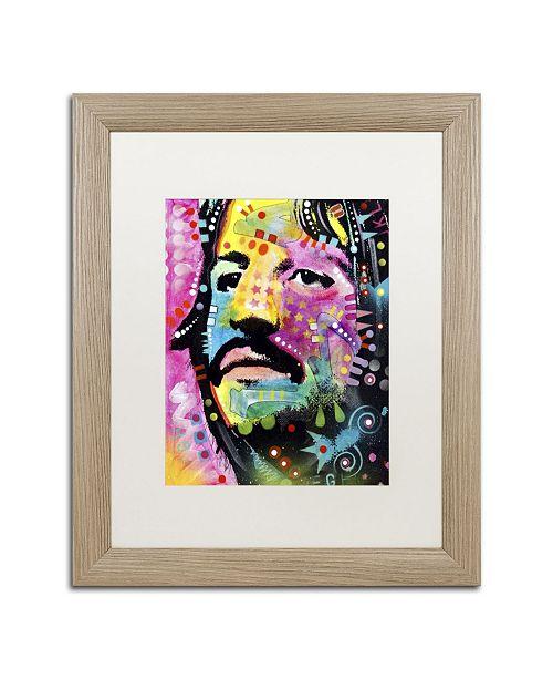 "Trademark Global Dean Russo 'Ringo Starr' Matted Framed Art - 20"" x 16"" x 0.5"""