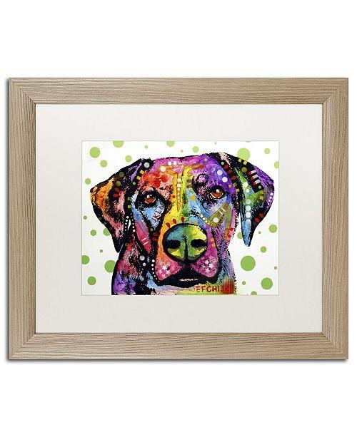 """Trademark Global Dean Russo 'Rhodesian' Matted Framed Art - 20"""" x 16"""" x 0.5"""""""
