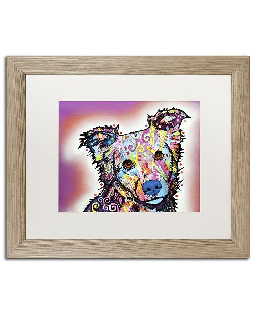 "Trademark Global Dean Russo 'Collied' Matted Framed Art - 20"" x 16"" x 0.5"""