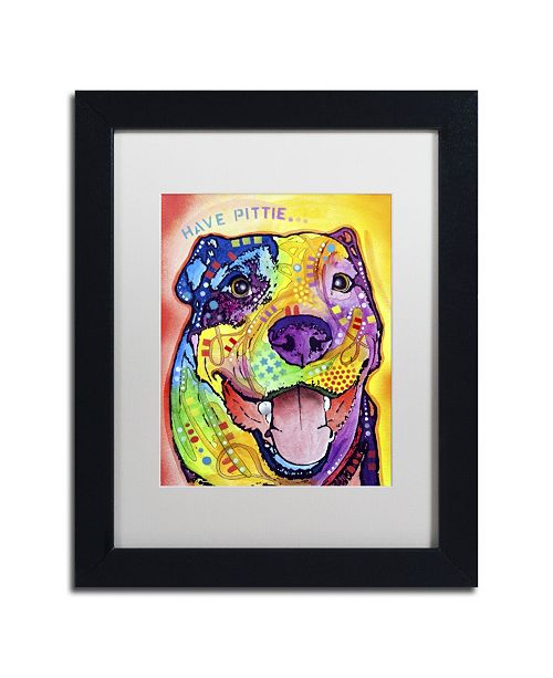 "Trademark Global Dean Russo 'Have Pittie' Matted Framed Art - 11"" x 14"" x 0.5"""