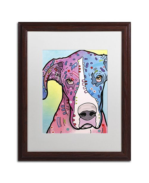 """Trademark Global Dean Russo 'Nobody's Fool' Matted Framed Art - 20"""" x 16"""" x 0.5"""""""