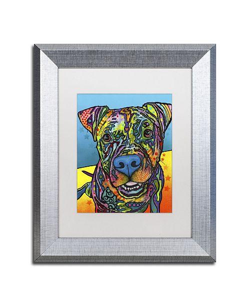 "Trademark Global Dean Russo 'Maccabee' Matted Framed Art - 14"" x 11"" x 0.5"""