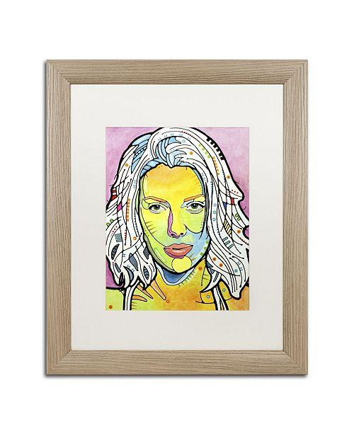 """Trademark Global Dean Russo 'Skin Deep' Matted Framed Art - 20"""" x 16"""" x 0.5"""""""