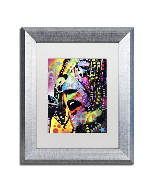 """Trademark Global Dean Russo 'John Lennon' Matted Framed Art - 14"""" x 11"""" x 0.5"""""""