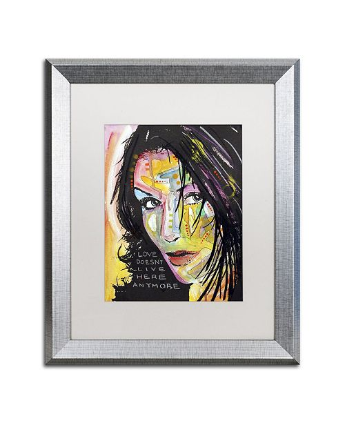 """Trademark Global Dean Russo 'Love Doesn't Live Here' Matted Framed Art - 20"""" x 16"""" x 0.5"""""""