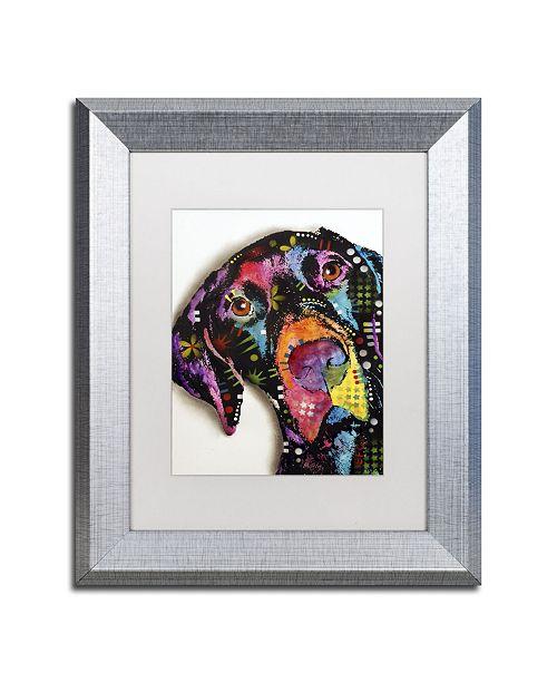 """Trademark Global Dean Russo 'Pointer' Matted Framed Art - 14"""" x 11"""" x 0.5"""""""