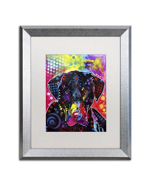 "Trademark Global Dean Russo 'The Labrador' Matted Framed Art - 20"" x 16"" x 0.5"""
