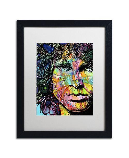 """Trademark Global Dean Russo 'Jim' Matted Framed Art - 16"""" x 20"""" x 0.5"""""""