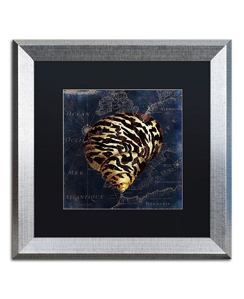 "Trademark Global Color Bakery 'Maritime Blues VI' Matted Framed Art - 16"" x 0.5"" x 16"""