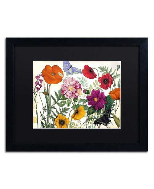 "Trademark Global Color Bakery 'Printemps I' Matted Framed Art - 20"" x 16"" x 0.5"""