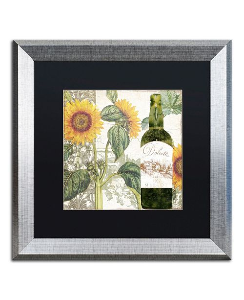 "Trademark Global Color Bakery 'Dolcetto V' Matted Framed Art - 16"" x 0.5"" x 16"""
