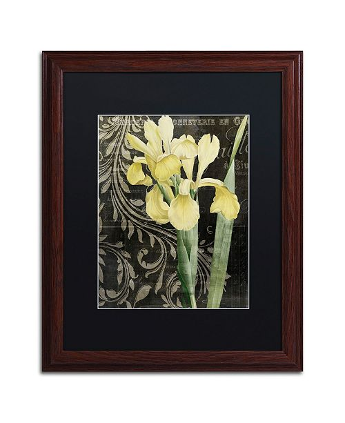 """Trademark Global Color Bakery 'Ode To Yellow' Matted Framed Art - 16"""" x 0.5"""" x 20"""""""