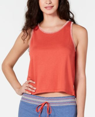 Stitch-Trim Pajama Tank Top, Created for Macy's