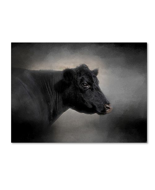 "Trademark Global Jai Johnson 'Portrait Of The Black Angus' Canvas Art - 32"" x 24"" x 2"""