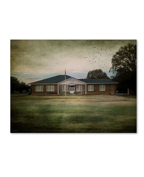 "Trademark Global Jai Johnson 'Schools Out' Canvas Art - 24"" x 18"" x 2"""