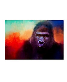 "Jai Johnson 'Colorful Expressions Gorilla' Canvas Art - 24"" x 16"" x 2"""