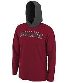 Men's Tampa Bay Buccaneers Helmet Hood Dri-FIT Cotton Long Sleeve T-Shirt
