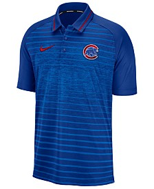 Nike Men's Chicago Cubs Stripe Game Polo