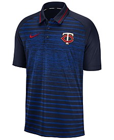 Nike Men's Minnesota Twins Stripe Game Polo