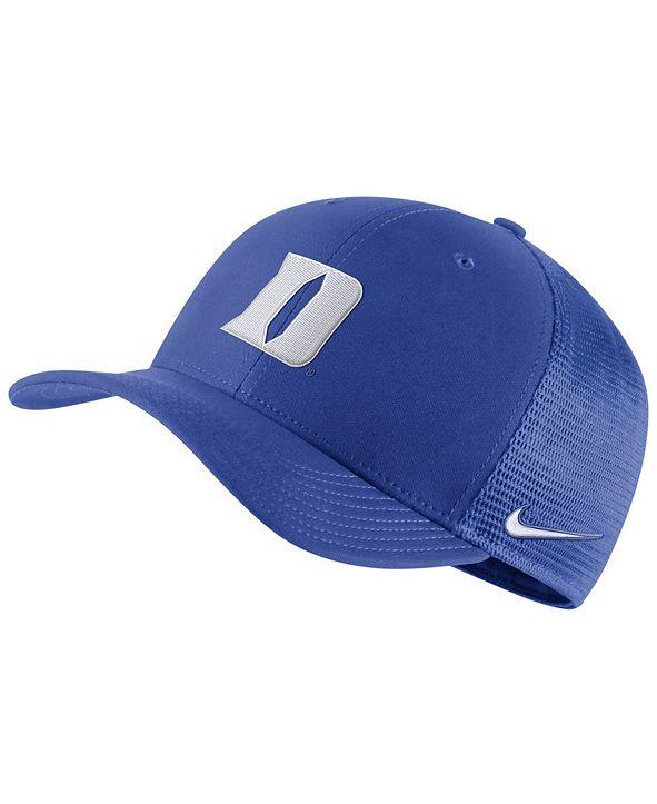 Nike Duke Blue Devils Aerobill Mesh Cap