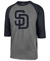 finest selection 97f10 065ef  47 Brand Men s San Diego Padres Throwback Club Raglan T-Shirt