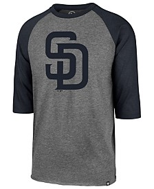 '47 Brand Men's San Diego Padres Throwback Club Raglan T-Shirt