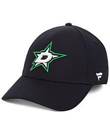 Authentic NHL Headwear Dallas Stars Basic Flex Stretch Fitted Cap