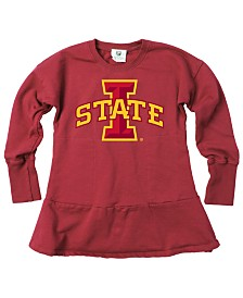 Wes & Willy Little Girls Iowa State Cyclones Fleece Dress