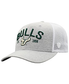 Top of the World South Florida Bulls Notch Heather Trucker Cap
