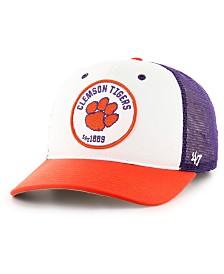 '47 Brand Clemson Tigers Swell MVP Trucker Snapback Cap