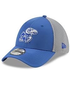 New Era Kansas Jayhawks TC Gray Neo 39THIRTY Cap