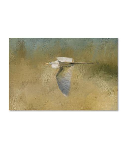 "Trademark Global Jai Johnson 'A Day At The Beach 4' Canvas Art - 32"" x 22"" x 2"""