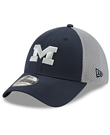 New Era Michigan Wolverines TC Gray Neo 39THIRTY Cap