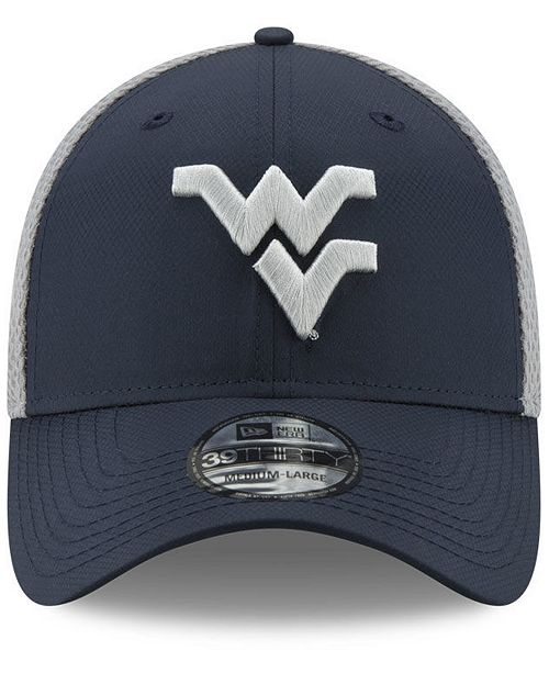 meet 7a650 c0d78 ... New Era West Virginia Mountaineers TC Gray Neo 39THIRTY Cap ...