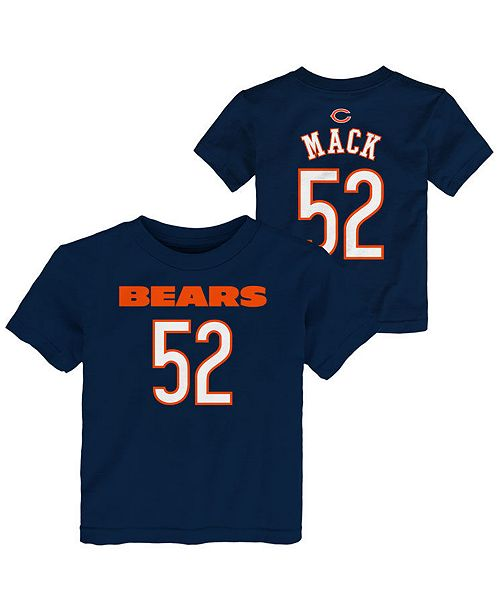 finest selection bac91 2f10c Toddlers Khalil Mack Chicago Bears Mainliner Player T-Shirt