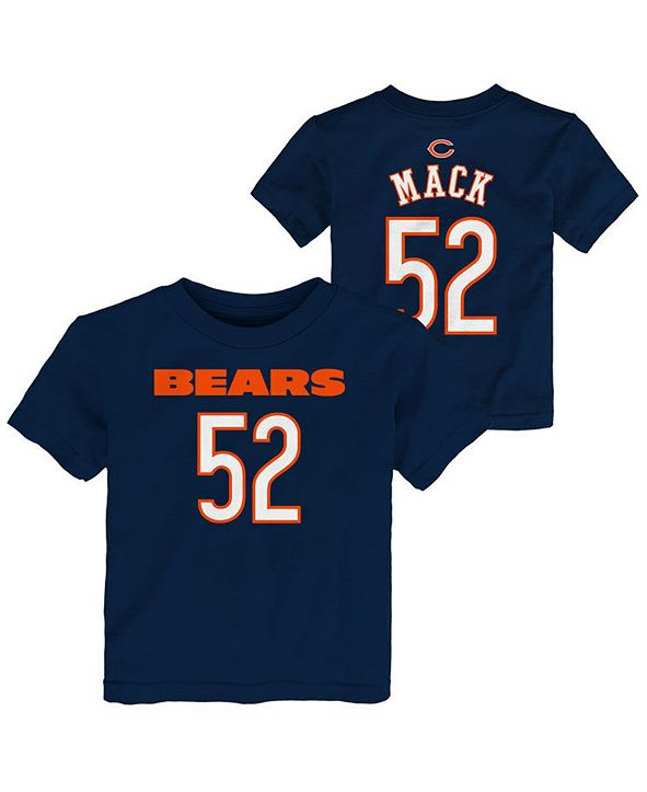 Outerstuff Toddlers Khalil Mack Chicago Bears Mainliner Player T-Shirt