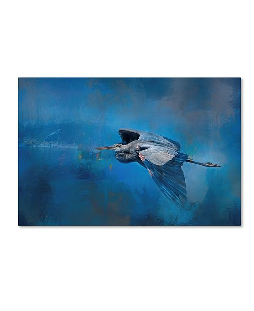 "Trademark Global Jai Johnson 'Flying Home' Canvas Art - 47"" x 30"" x 2"""