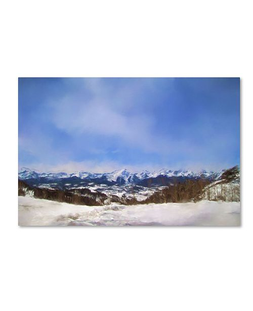 "Trademark Global Jai Johnson 'Overlooking The Mountains Of Colorado' Canvas Art - 24"" x 16"" x 2"""