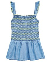 9674ba40ad3e0 Epic Threads Big Girls Embroidered Smocked Top, Created for Macy's