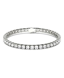 Moissanite Tennis Bracelet (9-7/8 ct. t.w Diamond Equivalent) in 14k white gold