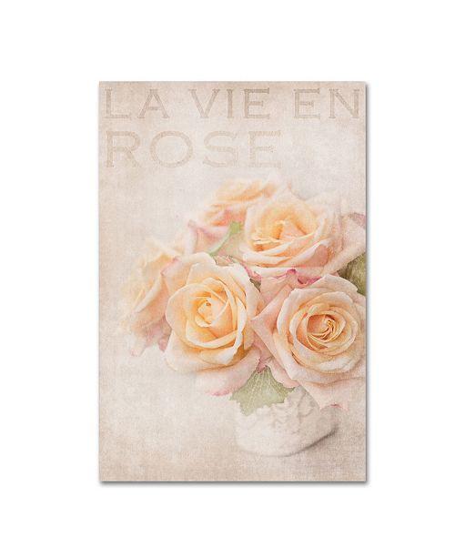 "Trademark Global Cora Niele 'Life In Pink' Canvas Art - 32"" x 22"" x 2"""
